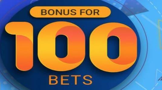 Бонус Melbet - за 100 ставок